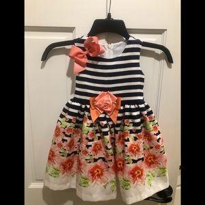 Bonnie Jean 3T floral dress.